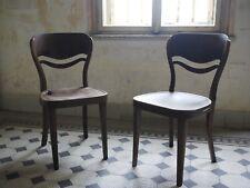 pair of rare elegant Thonet chairs