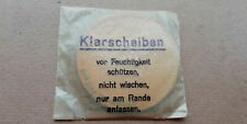 Petite pochette pour occulaires de rechange du masque à gaz allemand ww2