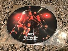 Kiss Interview Picture Disc! Limited! Alice Copper AC/DC Iron Maiden Van Halen