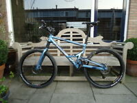 "Cannondale Jekyll 500 Mountain Bike - Size Large - 26"" wheels - fatty fork - New"