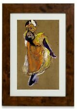 Study of the Dancer Framed Print By Toulouse-Lautrec