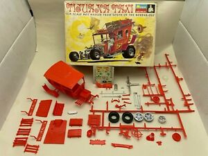 Vintage Monogram 1/24 Tijuana Taxi Model Kit No. PC222-200 For Parts Only
