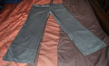 H&M Women's GRAY SLACKS PANTS BOTTOMS Size 14 with pockets Great Used Condition