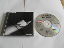 JOE JACKSON - Look Sharp! (CD) USA Pressing