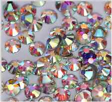 100 Stück Strasssteine Glas mini ca 1,35 mm Nailart Kristalle ss3 MULTICOLOR 100