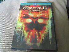 """RARE! DVD """"VENDREDI 13, CHAPITRE 8 VIII : L'ULTIME RETOUR"""" horreur"""