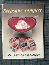 KEEPSAKE SAMPLER Vol. 4 Four Sue Camille Scheewe Tole Painting