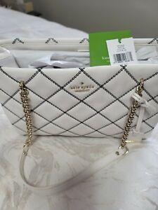 Kate Spade White Handbag NWT $448.
