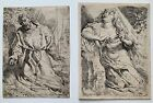 Willem Buytewech - St. Francis & Mary Magdalen - Pair of 17th Century Etchings