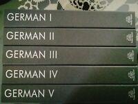 German Language Course I II III IV V Pimsleur Audio CD Disks