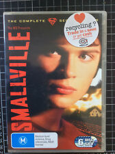 SMALLVILLE 2nd Season 2 Australian 6 disc DVD BOX SET American Superman TV show