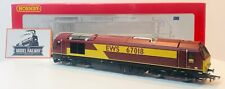 """HORNBY 00 GAUGE - R2764 - EWS CLASS 67 67018 """"RAPID"""" DIESEL ELECTRIC DCC FITTED"""