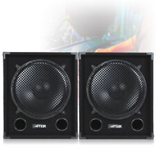 "2400W MAX15SUB 15"" Inch Subwoofer Sub Bass Speakers DJ PA Karaoke Party UK Stock"
