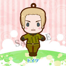 Hetalia Axis Powers Germany Rubber Phone Strap Vol. 1 Rerelease