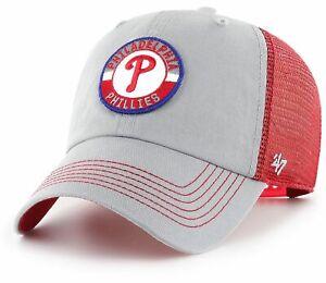 Philadelphia Phillies MLB '47 Porter Clean Up Cap Hat Snapback Mesh Baseball Lid
