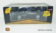 Maisto Premiere Mercedes SLR McLaren Coupe 5.4l Supercharged V8 Black 1/18 MINT!