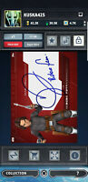 Topps Star Wars Card Trader SWCT The Clone Wars Signatures 2020 Boba Fett RED