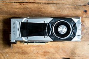 EVGA Geforce GTX 1070 8GB (08GP46775KR) Graphics Card
