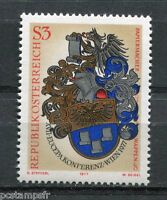 AUTRICHE, 1977, timbre 1387, CONFERENCE EUCEPA, neuf**, VF MNH stamp
