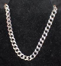 "Vintage 50s Signed CORO PEGASUS Pat Pend Silvertone 15 1/2"" Necklace"
