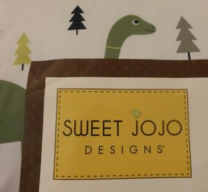 3 pc Sweet JOJO Designs Boutique MOD DINO Full/Queen Comforter & Shams Set NIP