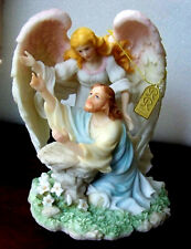"Seraphim Classics Angel Figurine By Roman ""Thy Will Be Done"" 2000- 84287 Tag Coa"