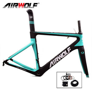 T1000 Carbon Fiber Road Bike Frame 3K Matte 54cm BSA Racing Bicycle Frameset