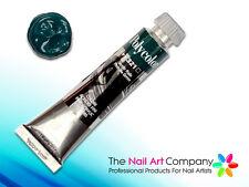 Polycolor One Stroke Acrylic Nail Art Paint - Phthalo Green 321 by Maimeri Italy
