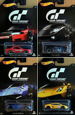 Gran Turismo Sortiment Set 4 Modellautos PlayStation PS 1:64 Hot Wheels