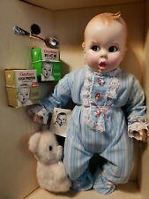 "Vintage 17"" Gerber 1979 Baby Doll Nib Small Bear Gerber Branded Accessories"