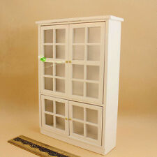 1:12 Dollhouse Miniature Furniture Kitchen Cabinet Cupboard Display Wood HKL