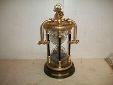 New ListingFranklin Mint National Maritime Historical Society Zodiac Brass Hourglass