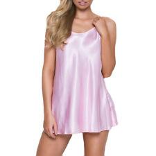 Women's Nighte Dress Plus Size Lingerie Babydoll Sleepskirt Underwear CA