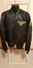 Vintage Dallas Stars Nhl Satin Jacket Xl Mens Great Condition