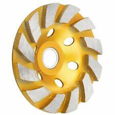 "4"" Diamond Segment Grinding Wheel Cup Disc Grinder Concrete Granite Stone Cut"