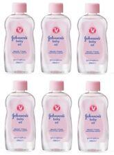 6x Johnson's Baby Oil 300ml clinically proven mildness, locks in moisture