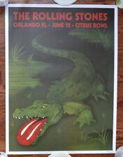 ROLLING STONES CITRUS BOWL ORLANDO FLORIDA 6/12/15 #ED ORIGINAL CONCERT POSTER