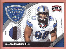 2011 Panini Threads 2010 All Rookie Team #6 Ndamukong Suh 4 Color Patch #43/99