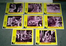 THE MUMMY'S SHROUD orig HAMMER lobby card set ANDRE MORELL 11x14 movie posters