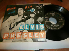 "elvis presley""rock and roll n°5""ep7""fr.rca area lbl.noir.1ére press= DR."