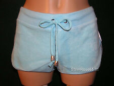 NEW Aeropostale Junior Girls Blue Terry Cover-up Shorts L Large