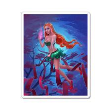 "Redhead Fairy Magic car bumper sticker decal 5"" x 4"""