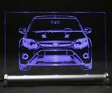 Ford Focus RS  als  AutoGravur auf LED-Leuchtschild