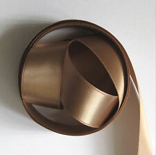 Beige Double Satin Ribbon 25mm Wide 4Mtrs (Col. 55)