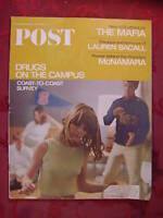 Saturday Evening POST May 21 1966 5/21/66 LAUREN BACALL