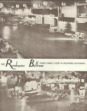 "NEWPORT BEACH Balboa RENDEZVOUS BALLROOM Art Print 983 11"" x 14"""