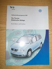 Selbststudienprogramm SSP 307 VW Der Touran Elektrische Anlage
