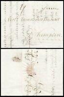 1793, kpl. Portobrief von Augsburg nach Kempten (Zumstein u. Vincenz-Korresp.)