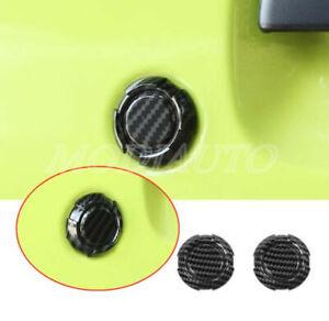 For Suzuki Jimny 2019-2020 ABS Carbon fiber car door keyhole cover protection