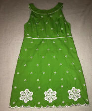 Vintage Lilly Pulitzer Womens Embroidered Dress - St Pats Day - Size 10
